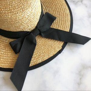 San Diego Hat Company Straw Hat with a Bow